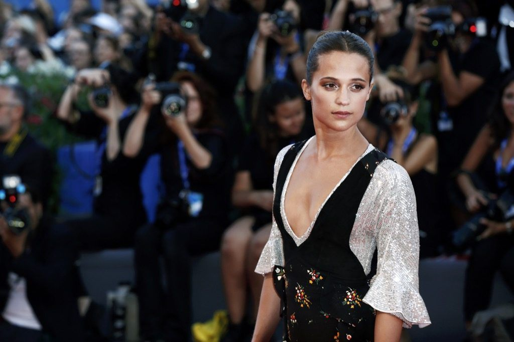 Alicia Vikander as Tomb Raider Lara Croft